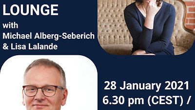 YTL Leaders Lounge with Michael Alberg-Seberich Managing Partner at Wider Sense and Lisa Lalande CEO, Century Initiative - 28th of January 21