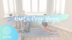 Birth Prep Yoga