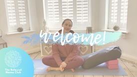 Pregnancy Yoga Welcome