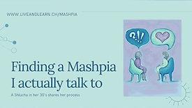Finding a Mashpia I Actually Talk To
