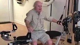 88 year old enjoys Gyrotonic® Exercise