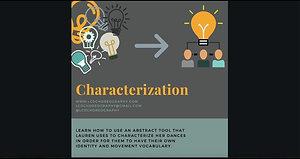 Choreography Tool: Characterization