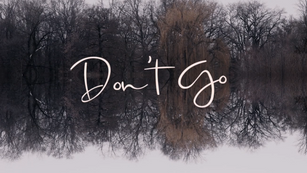 Blue Cafe Music and Video - 'Don't Go'              by KasēoGems - Lyric Video