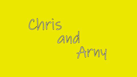 Chris and Arny