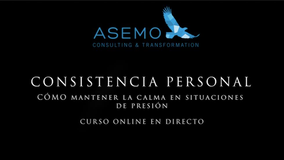 Nuevo curso online Consistencia Personal