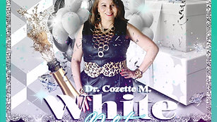 Cozys White Party: Save the Date Ad