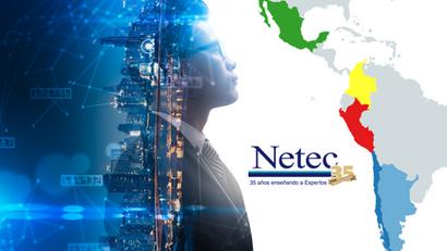 Netec, nuestra presencia en Latinoamérica
