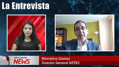 Entrevista a nuestro Presidente Marcelino Gómez en Infochannel News