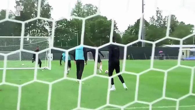 England 3v3+GK Training