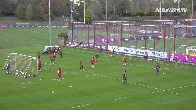 Bayern Munich 3v3+GK Training