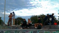 The Dark Glow of the Mountains  Chris Zabriskie - Skate Park