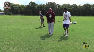 EG Green Dead Leg Drill Nole Legends Football Camp