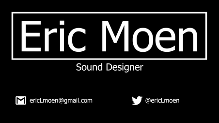 Feb. 2020 Sound Design Reel