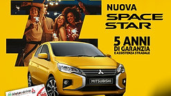 Mitsubishi Space Star tua a € 8700