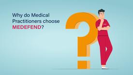 Why do medical practitioners choose MEDEFEND?