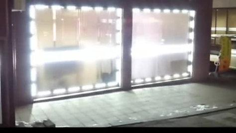 Eclairage de vitrine