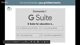 GOOGLE SUITE per la didattica- Crea Presentazioni Google interattive