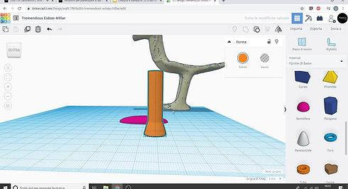 Disegna e stampa in 3D il Bronzetto