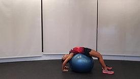 Backwards Ball Stretch
