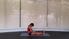 Upper and Lower Back Stretch