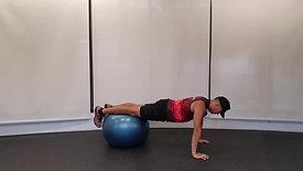 Swiss Ball Push-Up