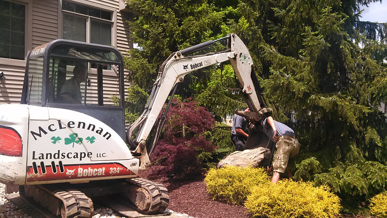 What we do here at McLennan Landscape!