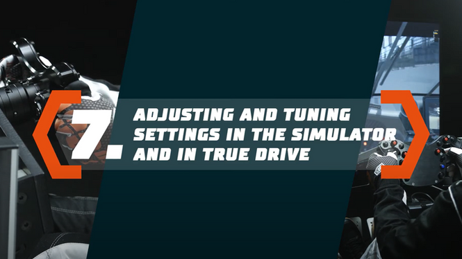 Simucube 2 Tutorial: Adjusting and Tuning Settings in the Simulator and in True Drive