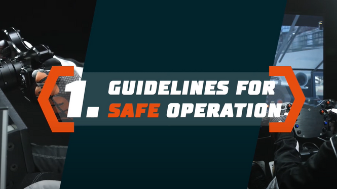 Simucube 2 Tutorial: Guidelines for Safe Operation