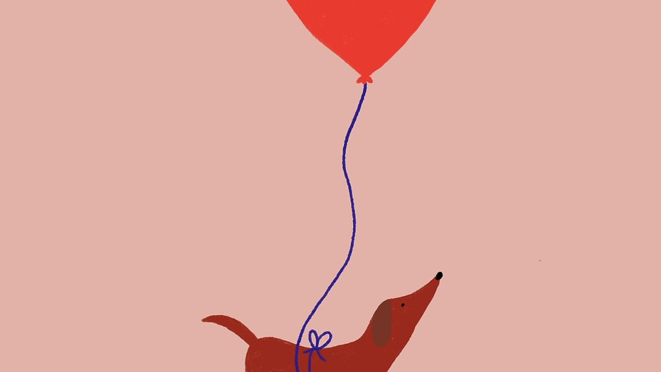 Dog_sausage dog balloon
