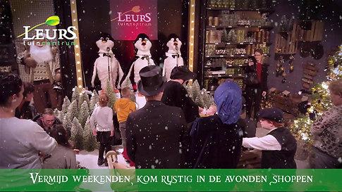 Tuincentrum Leurs Kerstshow