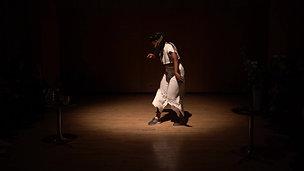 where love lies fallow - ritual dance solo by Tatiana Desardouin