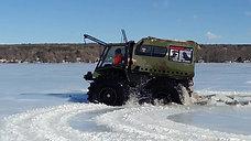 The Patrol Amphibious ATV