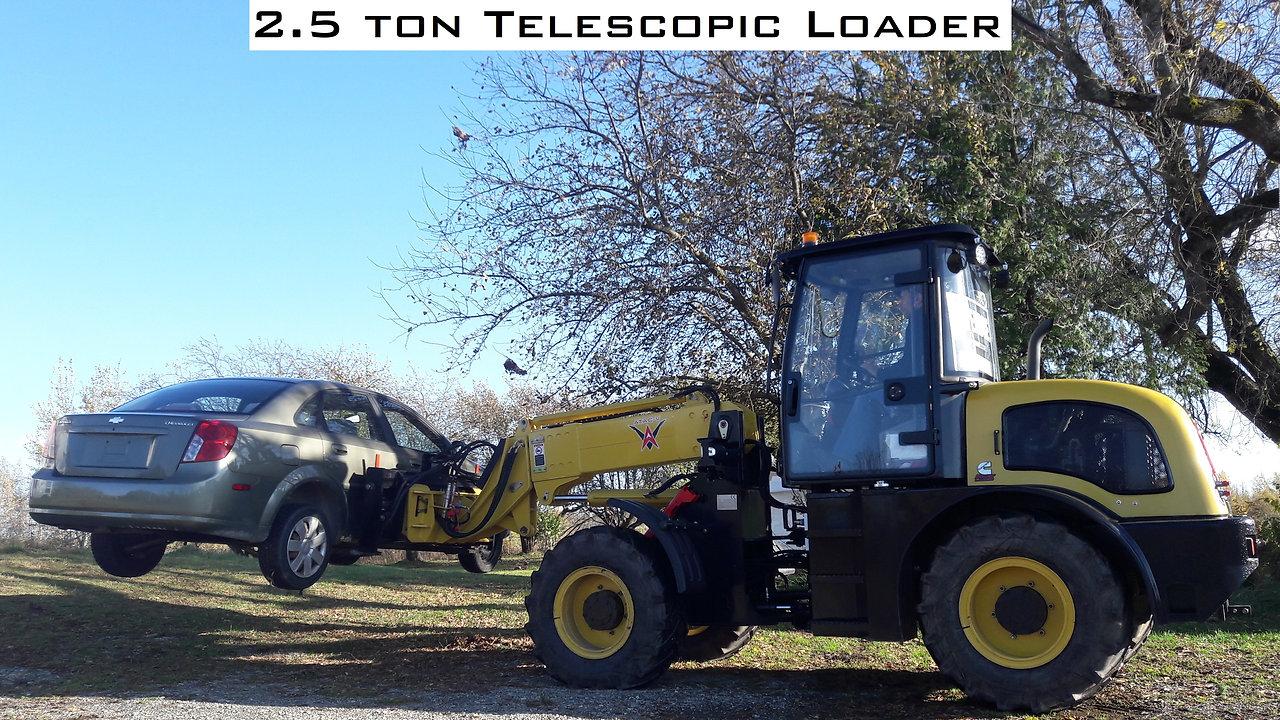 ATAC-V 2.5 ton Telescopic Loader
