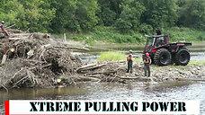 River log jam removal