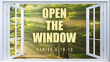 Sunday Service Live 11am   Open The Window - Pastor Sharo