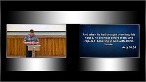 10/10/2021 AM - Acts 16:25-34 - Baptismal Service