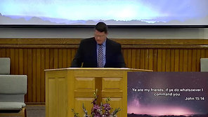 "08.01.2021 PM - John 15:15-17 ""Jesus Friend of Sinners"" - Communion"