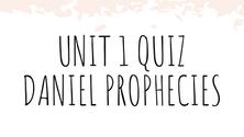 Unit 1 Quiz
