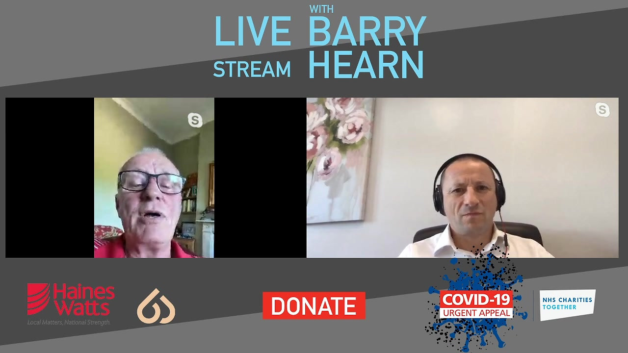 A Live Stream Event with Barry Hearn