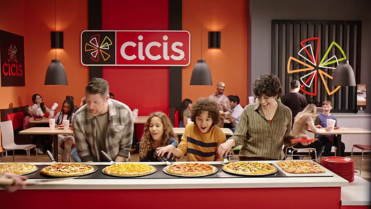 Unlimited Pizza Buffet… only at Cicis (National TV On-Camera)