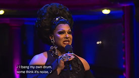 The extraordinary, Alexis Michelle, sings from the musical, La Cage Aux Folles.