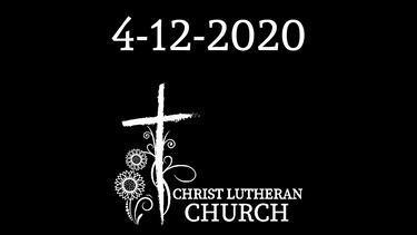 Easter Sunday 4/12/20