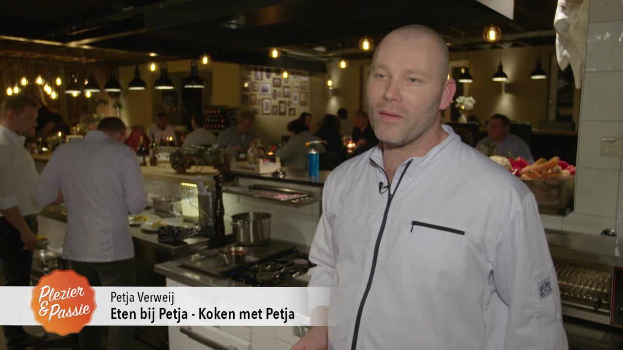 Eten bij Petja bij Plezier & Passie op RTL4