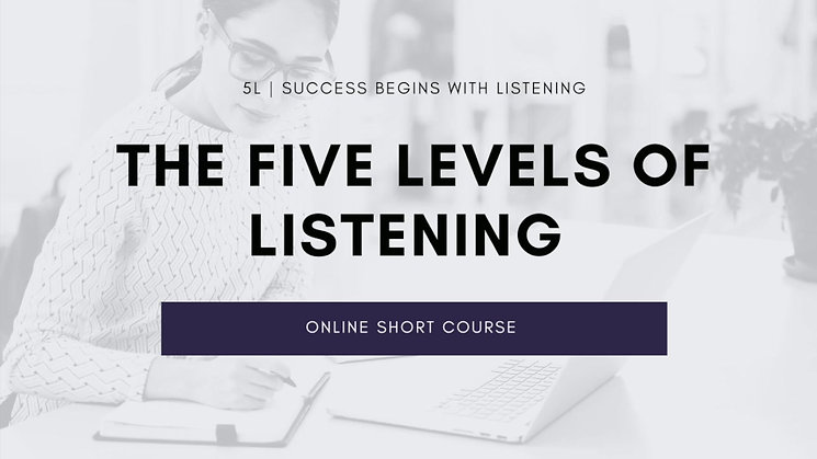 Introduction to the Five Levels of Listening