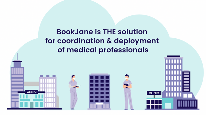 BookJane_ The solution for coordination & deployment of medical professionals