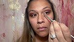 Q-voe Mineral Makeup - How to Apply Eyeshadow and Eyeliner with Q-base Sealant