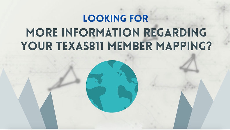 Texas811 Member Mapping