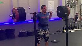 Diego 155kg squat