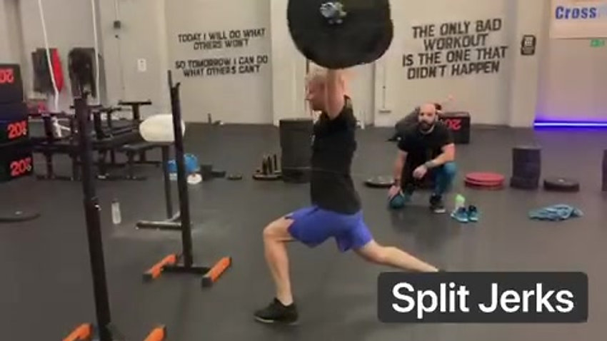 Olympic lifting class