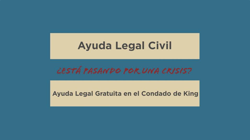 Civil Legal Aid Resources - Spanish